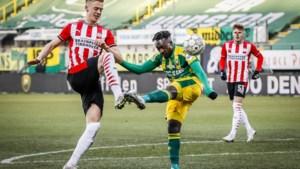 PSV, met jonge Belg Yorbe Vertessen voor het eerst in de basis, geraakt niet voorbij ADO