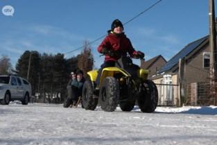 Probeer eens een quad op het ijs