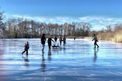 Toch schaatsplezier in Limburg, ondanks verbod