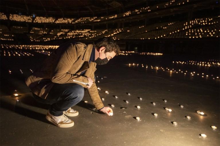 """Sportpaleis virtueel uitverkocht voor fundraiser 'Lights for live': """"Dubbel gevoel"""""""