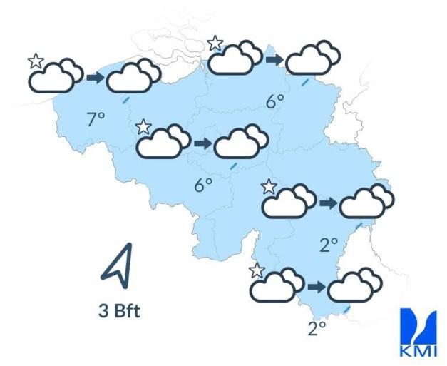 """Weerbericht: """"Van heel koud naar heel zacht weer: kwik klimt richting 16 graden"""""""