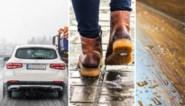 """Hoe verwijder je vlekken door strooizout van je schoenen, auto of vloer? """"Gebruik vooral geen warm water"""""""