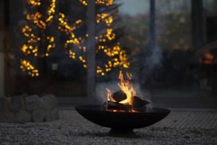 Man onwel na gebruik van vuurkorf omdat de verwarming het niet meer deed