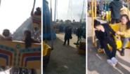 Angstaanjagend moment gefilmd: attractie stort naar beneden, meerdere mensen raken gewond