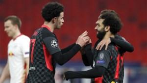 Liverpool dwingt RB Leipzig tot foutjes en neemt optie op kwartfinales van Champions League