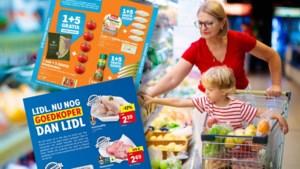 """Albert Heijn pakt uit met """"1+5 gratis"""", Lidl """"nog goedkoper dan Lidl"""": prijzenoorlog tussen supermarkten losgebarsten"""