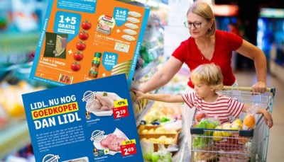 """Albert Heijn pakt uit met """"1 5 gratis"""", Lidl """"nog goedkoper dan Lidl"""": prijzenoorlog tussen supermarkten losgebarsten"""