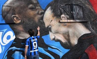 """""""Valentijn is voorbij, maar hopelijk geven Lukaku en Zlatan elkaar nog een knuffel"""""""
