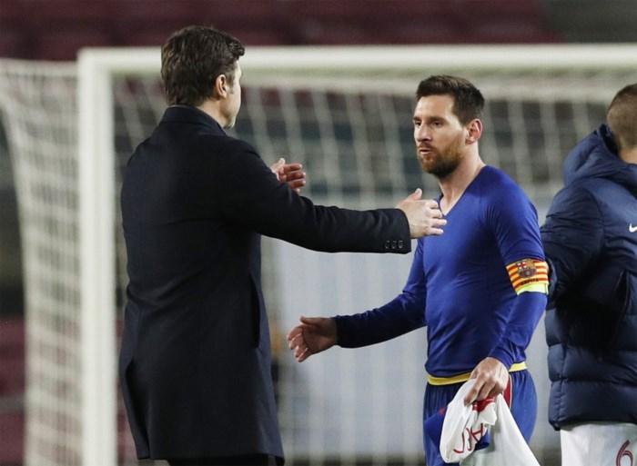 Domper voor Lionel Messi en co: Barça zo goed als uitgeschakeld na hattrick van wervelwind Kylian Mbappé