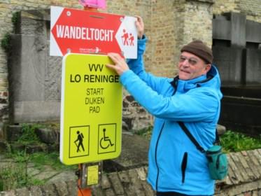 IJzerstappers stippelen tijdelijke wandeling uit in Izenberge