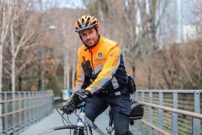 """Marathonloper David Stevens waakt over de verkeersveiligheid in de hoofdstad: """"Basis leggen voor nieuwe uitdaging"""""""