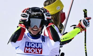Lara Gut-Behrami skiet naar wereldtitel in reuzenslalom, net voor olympisch kampioene Mikaele Shiffrin