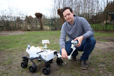 Urania volgt Marslanding met schaalmodel van Mars Rover
