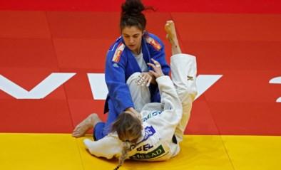 Geblesseerde Charline Van Snick kampt voor brons in Tel Aviv