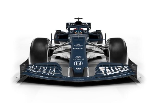 Zusje van Red Bull F1-team presenteert nieuwe F1-bolide: de AlphaTauri AT02