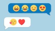Deze emoticon staat niet meer hip in sms'jes naar je tienerkinderen