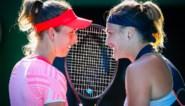 """Elise Mertens treedt (een beetje) in de voetsporen van Kim Clijsters met zege op Australian Open: """"Dubbelspel is gewoon minder stresserend"""""""