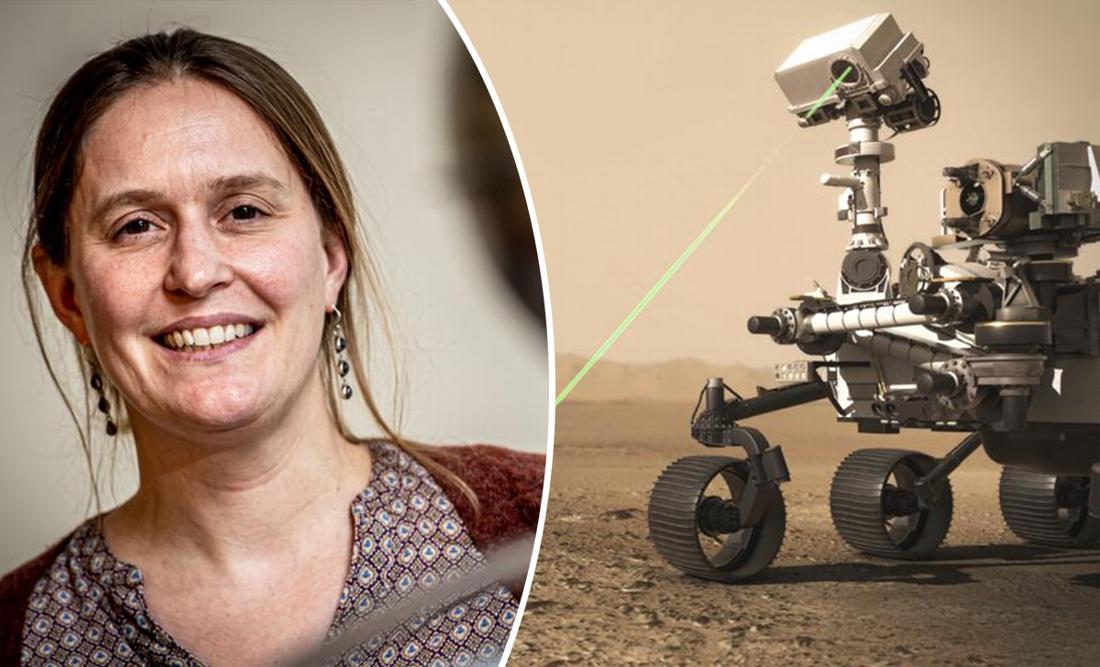 """Geoloog Vinciane Debaille is de enige Belg die meewerkt aan NASA-missie: """"Zoeken naar leven op Mars, dat voelt bijna onwerkelijk"""" - Het Nieuwsblad"""