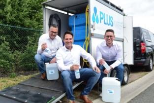 PLUSwater brengt natuurlijk desinfectiemiddel op de markt