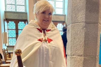 Martine helpt kansarme kinderen als Tempelier met Plicht