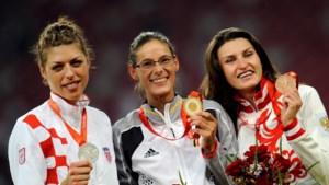 Viervoudig wereldkampioene hoogspringen Blanka Vlasic, de olympische rivale van Tia Hellebaut, beëindigt carrière