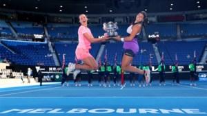 Afscheid in schoonheid: Elise Mertens wint nu ook de Australian Open in het dubbelspel, maar moet op zoek naar nieuwe partner