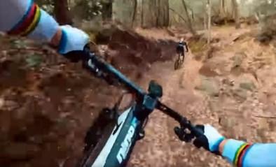 Alles gewonnen, maar gek van mountainbike: olympisch kampioen Nino Schürter amuseert zich te pletter tijdens spectaculaire afdaling