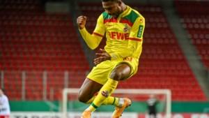 Emmanuel Dennis in zijn tweede match voor 1. FC Köln meteen trefzeker, maar Nigeriaan mist ook cruciale strafschop