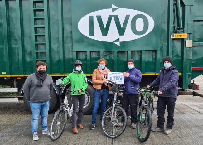 Marino Volckaert is eerste 'Fietsheld' van IVVO