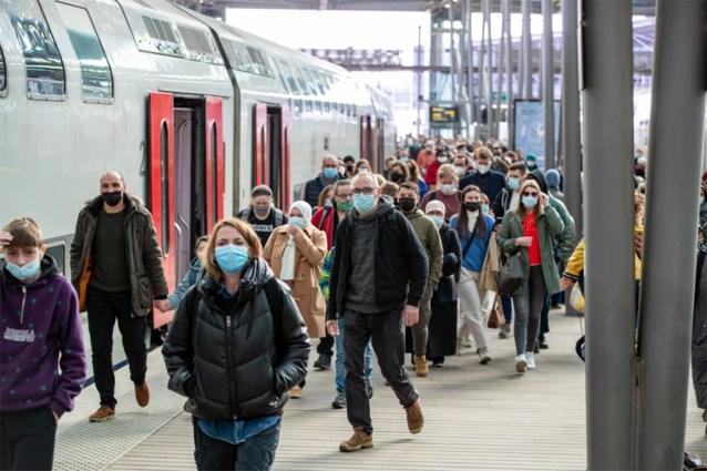 """NMBS: """"Terugkeer dagjestoeristen met trein goed verlopen"""""""