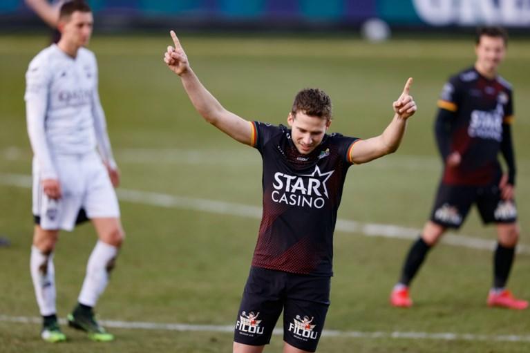 KV Oostende slaat zich voor het hoofd: geen derde plaats na late tegentreffer in Eupen