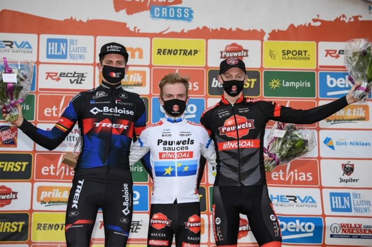 Eli Iserbyt boekt eerste zege in tweeënhalve maand in spannende Waaslandcross
