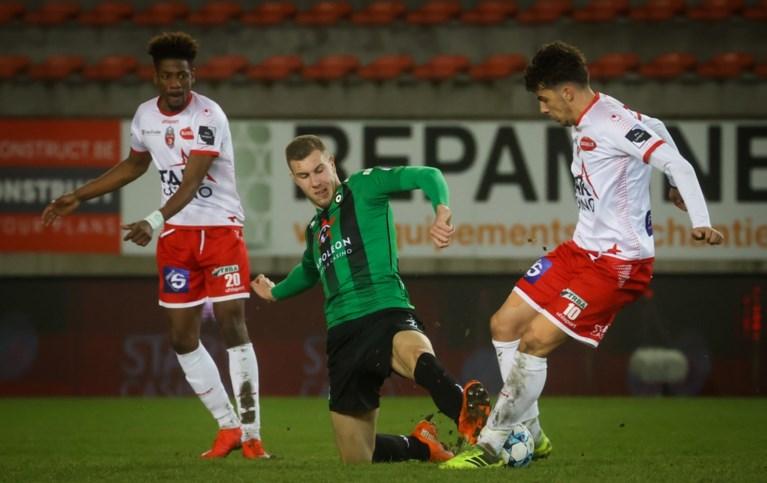 Cercle Brugge wint degradatiekraker bij Moeskroen na prangende slotfase