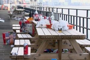 Antwerpen ontwaakt als vuilnisbelt na eerste lentedag