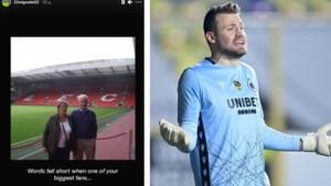 Droevig nieuws voor Simon Mignolet: grootvader van Brugse doelman overleden