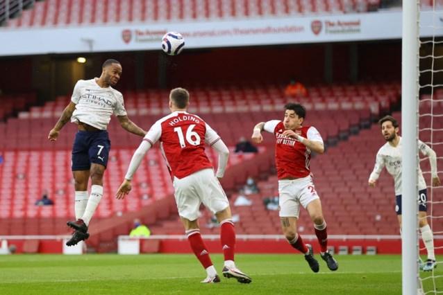 Manchester City, met Kevin de Bruyne opnieuw in de basis, boekt tegen Arsenal al 13de (!) competitiezege op rij