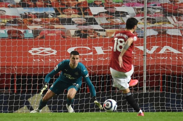 Manchester United boekt dankzij alweer beslissende Bruno Fernandes makkelijke zege tegen laagvlieger Newcastle