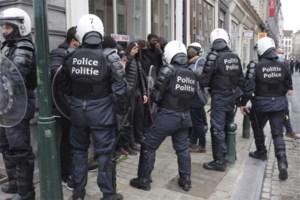 Politievakbond klaagt zelf politiegeweld aan na betoging in Brussel