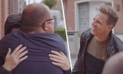 """James Cooke heeft een verrassing voor terminaal zieke Dimi in 'Leef!': """"Ik sta te trillen op mijn benen!"""""""