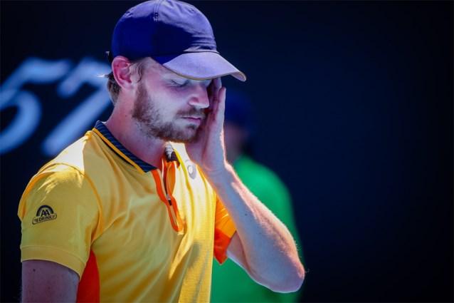 Opnieuw niks voor David Goffin: na snelle exit op Australian Open nu uitschakeling in eerste ronde dubbelspel op ATP Montpellier