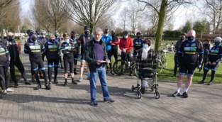 Eldoradofietsers herdenken overleden fietsmakkers