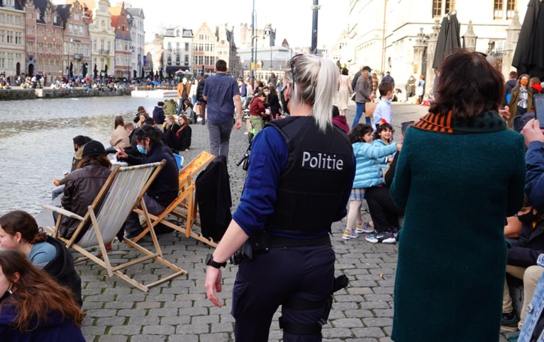 Lentezon lokt hele weekend drommen volk naar Gent-centrum