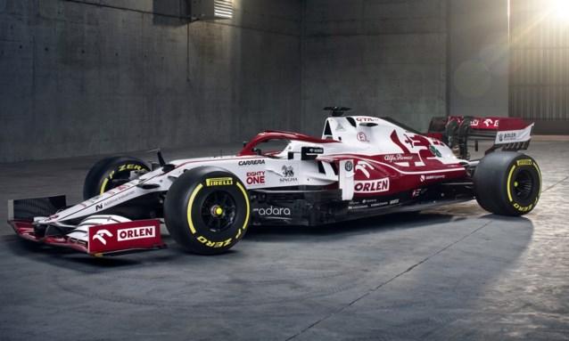 Alfa Romeo presenteert nieuwe F1-bolide met zwarte 'accenten'
