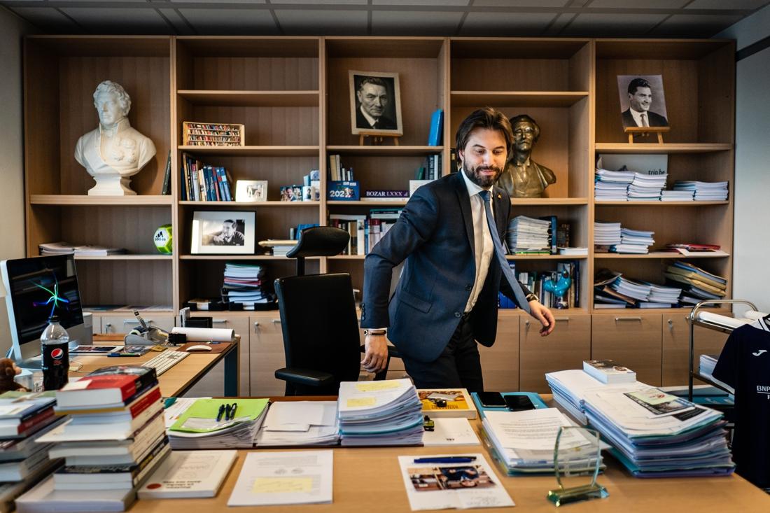 """Georges-Louis Bouchez (MR) wil dat het Overlegcomité eind deze week resultaat oplevert: """"De bevolking heeft zuurstof nodig"""""""