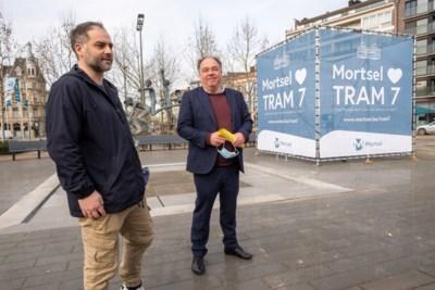Stad Mortsel vecht voor het behoud van tram 7