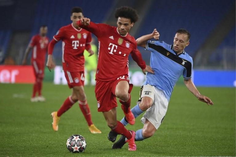 Titelverdediger Bayern dolt ook met Lazio en maakt terugwedstrijd tegen Romeinen nu al overbodig