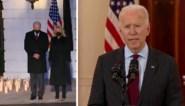 President Biden herdenkt 500.000 Covid-slachtoffers met een moment van stilte