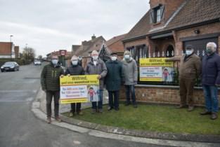 """""""Wilfried, geef onze woonstraat terug!"""": bewoners viseren burgemeester met slogan tegen verkeersdrukte"""