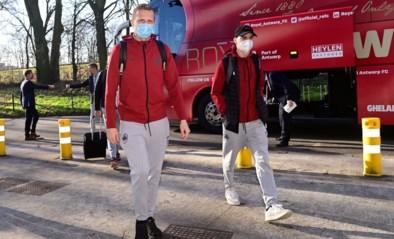 Antwerp FC is goed en wel aangekomen in Glasgow voor duel met Rangers