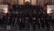 Amerikaans Congres herdenkt 500.000 coronaslachtoffers op imposante manier